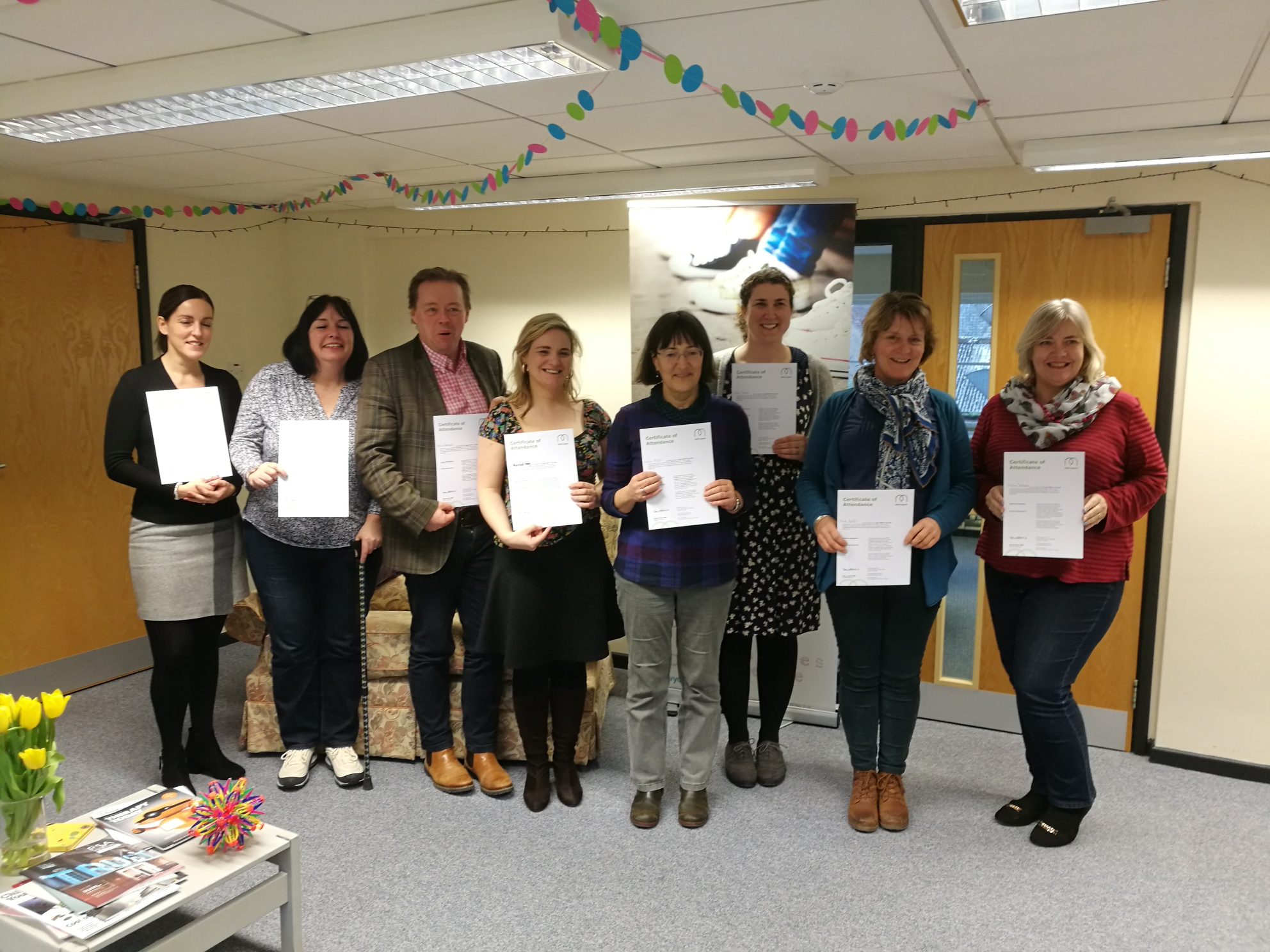 Successful Youth Mental Health First Aiders from The Youth Trust